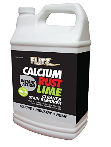 Flitz CR 01610 Instant Calcium, Lime and Rust Remover, 1 Gallon Refill ()