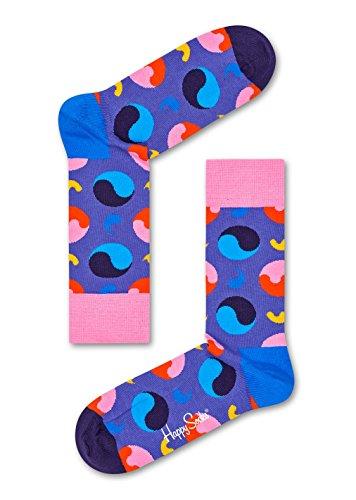 Sock Yin Yang Purple 36-40 ()