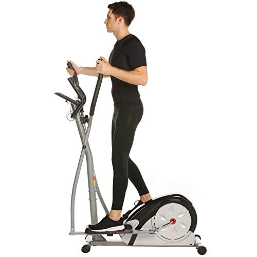 Jaketen Elliptical Exercise Machine Magnetic Smooth Quiet Driven Eliptical Trainer Machine for Home Use (Elliptical-Gray) by Jaketen (Image #6)