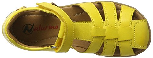 Naturino Unisex-Kinder See Geschlossene Sandalen Gelb (Gelb)