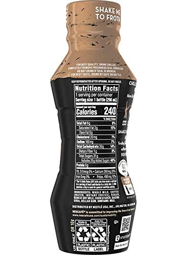 Nescafe Cold Whipped Latte, 10 ounce bottles (Coffee)
