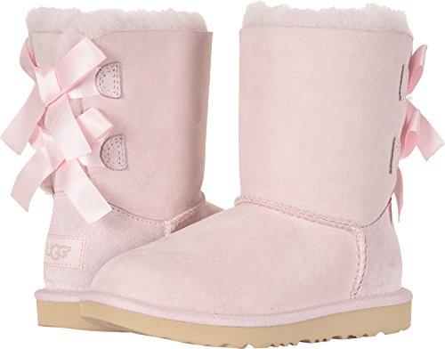 UGG Girls' K Bailey Bow II Fashion Boot, Seashell Pink, 6 M US Big Kid from UGG