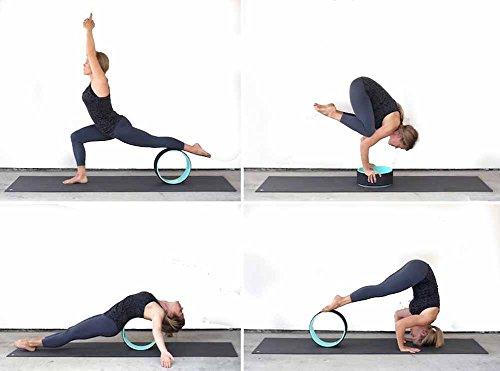 YNXing Yoga Rueda, Rueda Auxiliar de Yoga, Yoga círculo ...