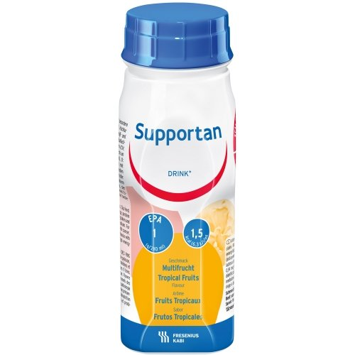 Supportan drink -supports the body against weight loss conditions -4x200ml Tropical fruits by Supportan
