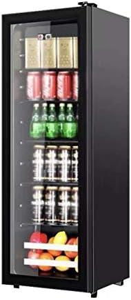 WANGLX 大容量赤ワインキャビネット - 飲料冷蔵庫やクーラー - ガラスドア付き飲料冷蔵庫、ボリューム:192L、38デシベル、ワインコレクションや食品飲料のためのビッグ飲料冷蔵庫クーラー
