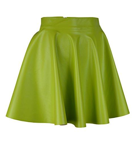 mini Donna a Fashion Roban Lime ad linea Gonna w4n0pFfqv