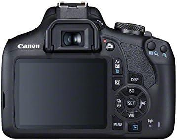 Canon EOS 2000D DSLR Cámara y EF-S 18-55 mm f / 3,5-5,6 IS II ...