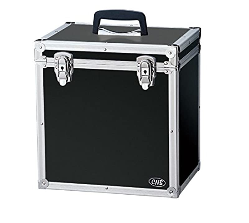 CNB 레코드 케이스 LP용 수납 매수 약50매 LPC-310 블랙