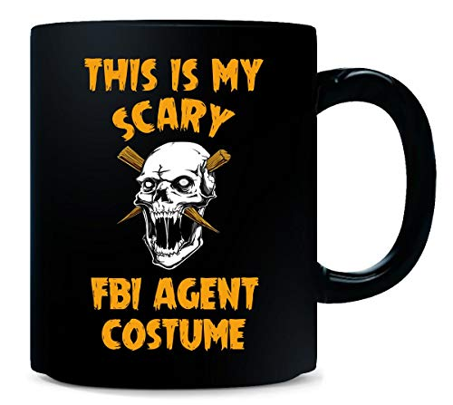 This Is My Scary Fbi Agent Costume Halloween Gift - Mug -