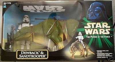 Star Wars Power Of The Force 12 Inch Exclusive Dewback   Sandtrooper Huge