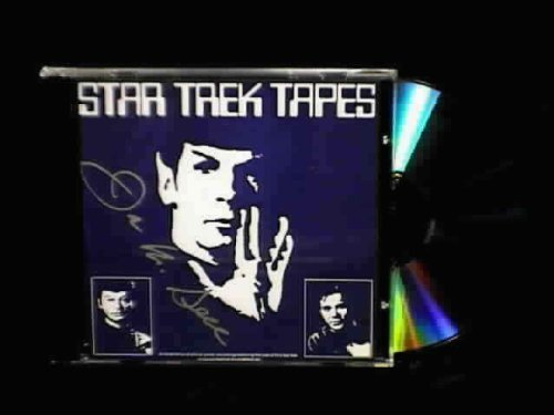 Collectible STAR TREK TAPES signed CD & PHOTOS from the 1975 Chicago Star Trek Convention VERY RARE & HARD TO FIND!!!!! Motion Compact Audio