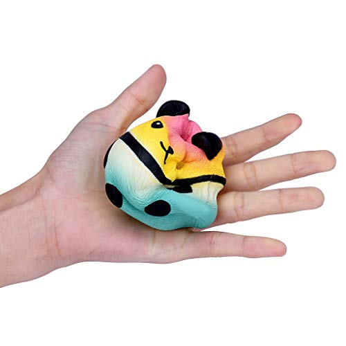 OrchidAmor New Squishies Galaxy Panda Fruit Scented Slow Rising Squeeze Stress Relief Toys -