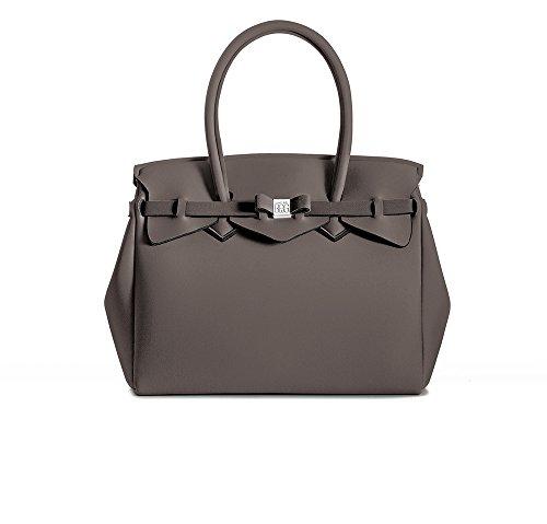 BORSA SAVE MY BAG - Cayenne (Bruno Cenere/Dusky Brown)
