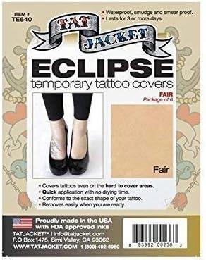 PolAmb Products TatJacket Tatuaje para Cubrir Kit Parches Set Cicatriz Marca de Nacimiento Corrector en 3 Colores