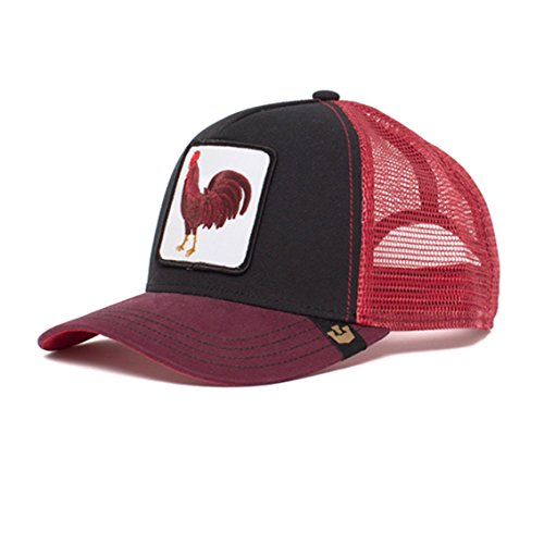 One-Size Trucker cap Foxy//Fuchs Maroon Goorin Bros