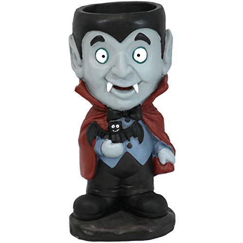 Sunnydaze Count Dracula Vampire Halloween Large Statue with