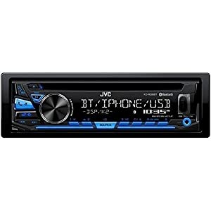 JVC KD-RD88BT Single DIN Bluetooth In-Dash CD/AM/FM Car Stereo With Pandora Control/iHeartRadio compatibility