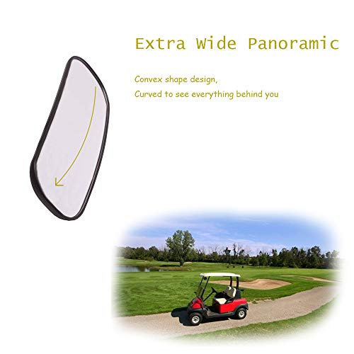 Golf Cart Rear View Mirror Easy To Install And Gives A