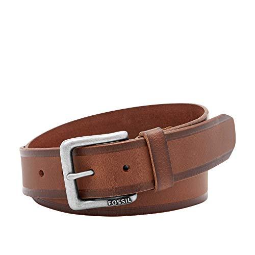Fossil Men's Kit Genuine Leather Belt - Brown