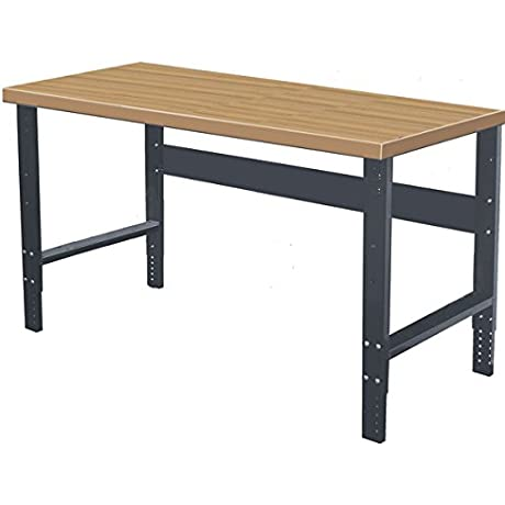Greene BA 367C BA Series Adjustable Composite Top Bench Only 35 5 Height 84 Width 36 Length