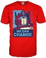 Transformers Men's Obama Prime Officially Licensed T-Shirt