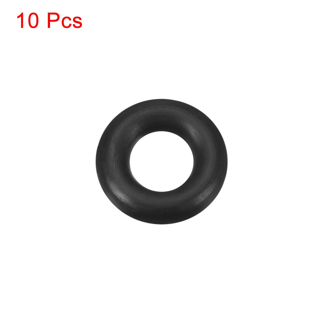 12mm OD 6mm Inner Diameter Round Seal Gasket Pack of 10 uxcell O-Rings Nitrile Rubber 3mm Width