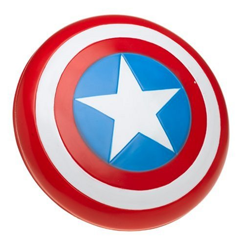 Captain Marvel Female Costume - The Avengers Captain America Child Shield