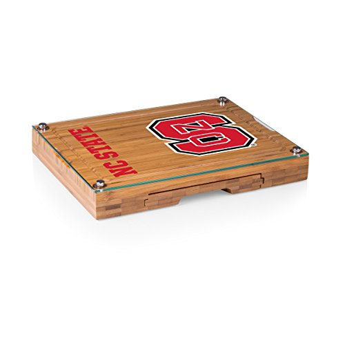 PICNIC TIME NCAA North Carolina State Wolfpack Concerto Cheese Board Serving Set (5 Piece)