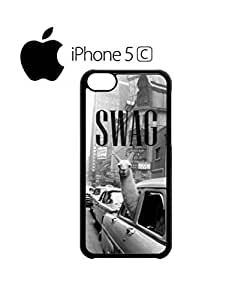LJF phone case LLama Lama Glama Mobile Cell Phone Case Cover iphone 4/4s Black