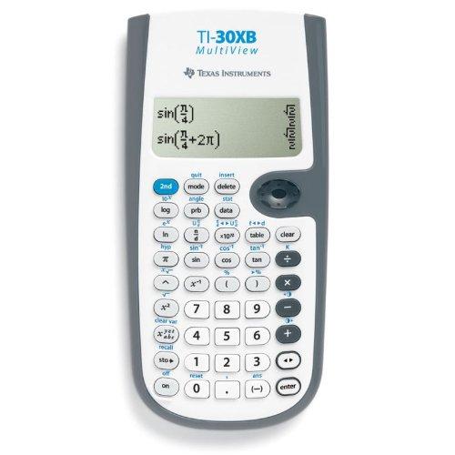 Texas Instruments Ti-30x Ii B Scientific Calculator White