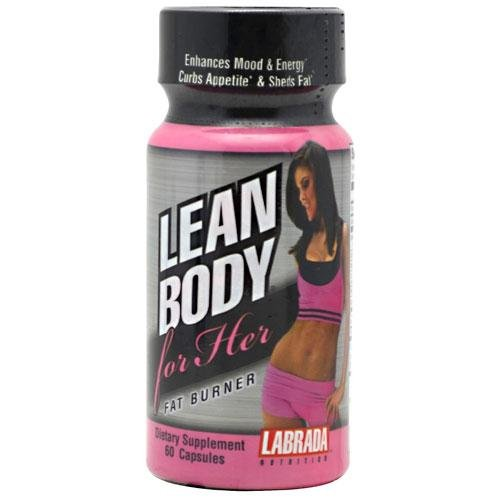 Nutrition Labrada Lean Body Pour ses capsules Fat Burner, 60 comte