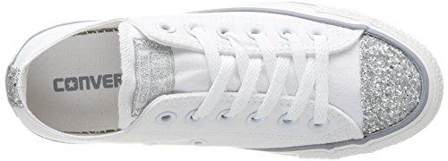 Converse Chuck Taylor All Star Ox - Zapatillas de estar por casa Mujer Blanc 3