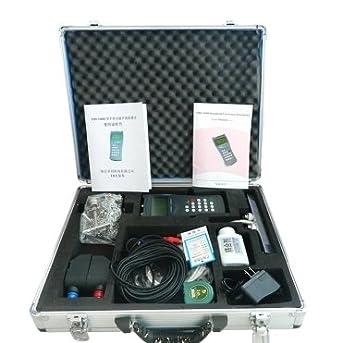 TDS-100 Medidor de flujo ultrasónico de mano de caudal de agua medidor de velocidad Detector de tubería Abrazadera de inspección en sensor: Amazon.es: ...