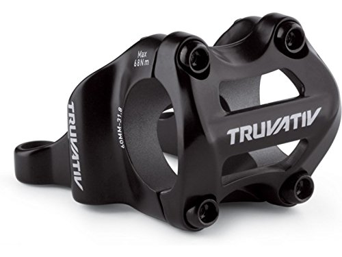Truvativ 4-Bolt Direct Mount 50mm 0 Rise 31.8 Holzfeller Stem (Black) - Direct Mount Stem