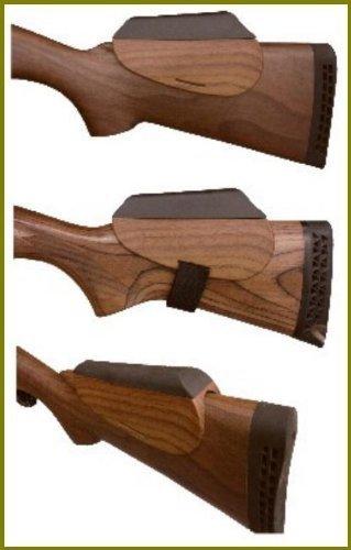 Accu-riser geformte Holz Look (Nussbaum) Cheek Rest von accu-riser