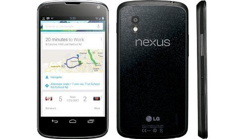 LG Google Nexus 4 E960 16GB Unlocked GSM Smartphone w/ 8MP Camera and 4.7