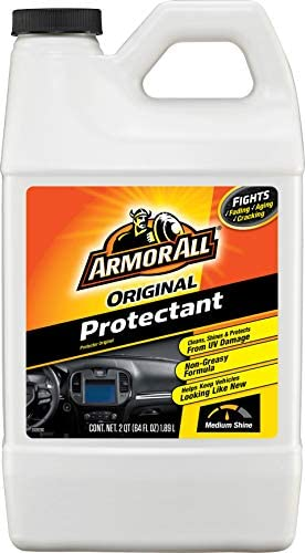 Armor All Original Protectant Refill, Car Interior Cleaner with UV Protection to Fight Cracking & Fading, Medium Shine, 64 Fl Oz, 17999B