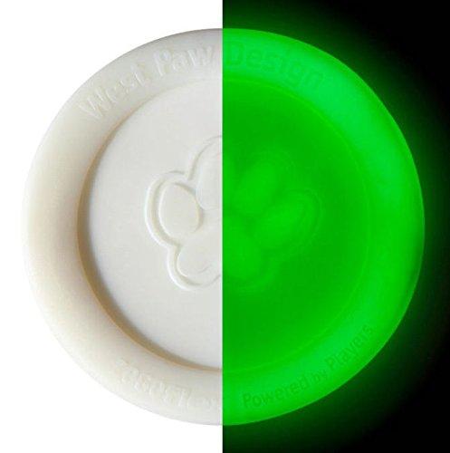 West Paw Zisc Disc Glow-In-The-Dark