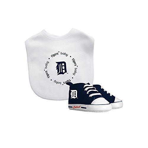 - Baby Fanatic MLB Detroit Tigers Unisex DET30002Bib & Prewalker Gift Set - Detroit Tigers, See Description, See Description