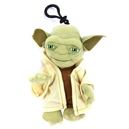 Star Wars - YODA Plush Toy Bag Clip Key Chains Coin Bag Clip On 8