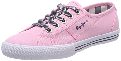 Factory Fille Jeans S Pink Sneakers Rose Basses Pepe Baker Basic YHqwT787
