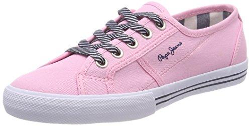 Pepe Jeans London Mädchen Baker Basic Girls Sneaker Pink (Factory Pink)