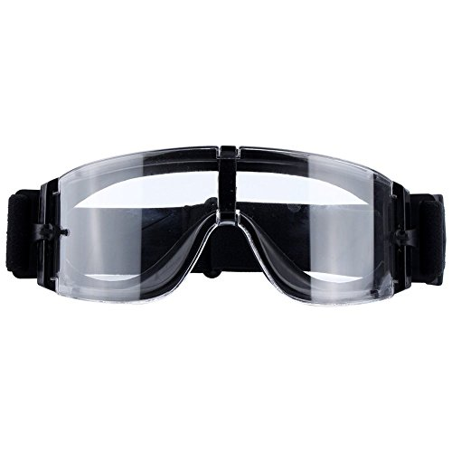 Wisdomlife Airsoft Goggle X800 Tactical Eyewear Sport Glasses Anti-fog Anti-dust Safety Goggles UV Protective for Outdoor Hunting Motorcycling Riding And Cycling by Wisdomlife