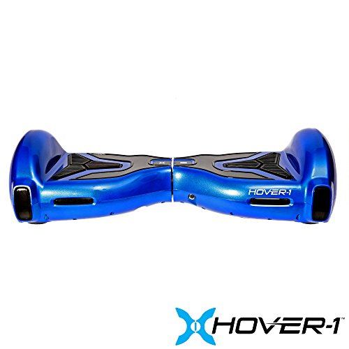 Hover-1 H1- UL 2272 Certified- Electric Self Balancing Hoverboard with Bluetooth, LED Lights and App Connectivity, Blue