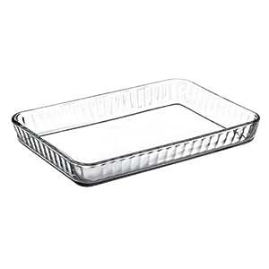 6 x molde bandeja de horno Borcam vidrio cristal Pasabahce form