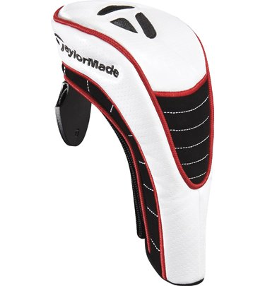 TaylorMade TM Hybrid Headcover, White, Outdoor Stuffs