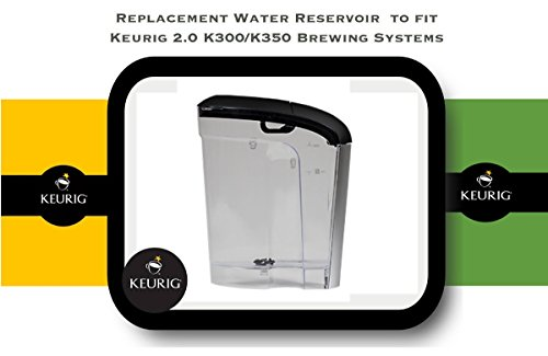 2.0 Replacement Lid (Replacement Water Reservoir for Keurig 2.0 K300 and K350 - 60 oz.)