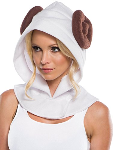 Rubie's Costume Co. Men's Adult Star Wars Princess Leia Hood,As/Shown,One Size