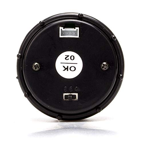 2 52MM Colorful LED Digital Voltmeter Voltage Oil Press Pressure PSI Gauge Fit for Boat Car AUTO Motor Vehicle Automotive