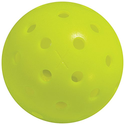 Franklin Sports X-40 Pickleballs - Outdoor - 3 Pack - USAPA Approved - Optic